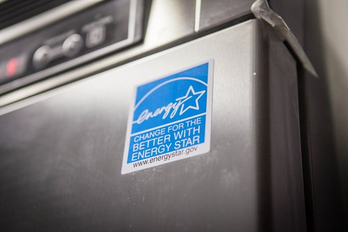 Photo of an ENERGY STAR logo on a product